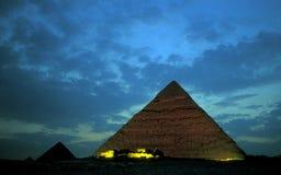 非洲埃及开罗吉萨棉金字塔 免版税库存照片