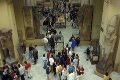 非洲埃及开罗埃及人博物馆 免版税库存照片