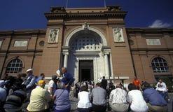 非洲埃及开罗埃及人博物馆 库存图片