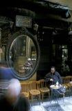 非洲埃及开罗老镇市场茶屋 库存照片