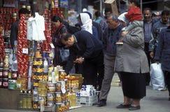 非洲埃及开罗老镇市场 免版税图库摄影