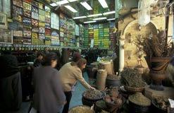 非洲埃及开罗老镇市场 免版税库存图片