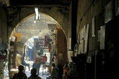 非洲埃及开罗老镇市场 库存图片