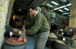 非洲埃及开罗老镇市场 图库摄影