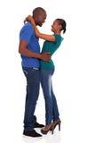非洲年轻夫妇 免版税库存照片