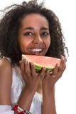 非洲女孩夏天 免版税图库摄影