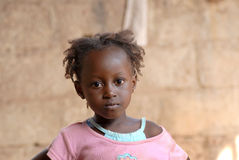非洲女孩 图库摄影