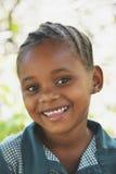 非洲女小学生 库存照片