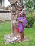 非洲妇女秀丽  免版税图库摄影