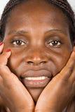 非洲妇女年轻人 免版税库存照片