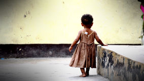 非洲孤儿 库存照片