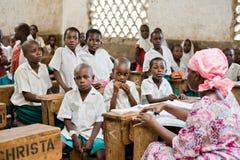 非洲学生 免版税库存照片