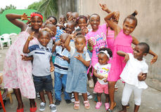 非洲孩子周年  免版税库存图片