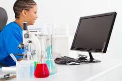 非洲实验室 免版税库存照片