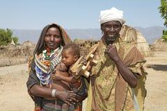 非洲家庭 库存照片