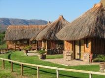 非洲小屋 免版税库存图片