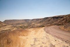 非洲山 库存图片