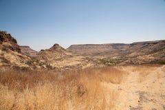 非洲山 库存照片