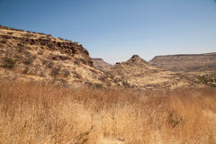 非洲山 免版税图库摄影