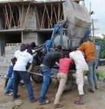 非洲工作者合格 免版税库存图片