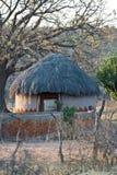 非洲房子村庄 免版税库存照片