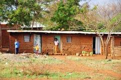 非洲房子 免版税图库摄影