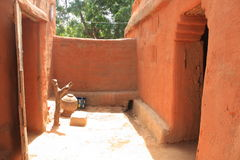 非洲房子 免版税库存图片