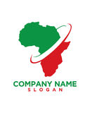 非洲投资解答业务保险摘要 免版税库存图片