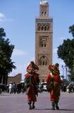 非洲摩洛哥马拉喀什 图库摄影