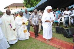 非洲教士教士的十年 库存照片