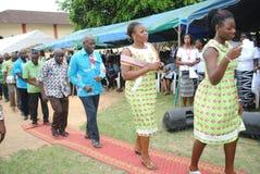 非洲教士教士的十年 免版税图库摄影