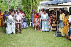 非洲教士教士的十年 图库摄影
