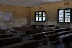 非洲教室 库存图片