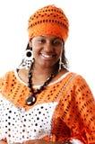 非洲服装方式 免版税图库摄影