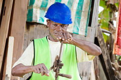 非洲细木工技术 库存照片