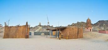 非洲村庄 图库摄影