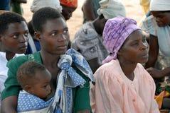 非洲母亲 免版税库存图片