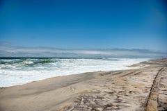 非洲海岸纳米比亚概要 库存图片