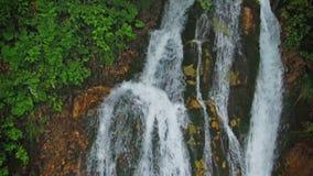 非洲海角drakenstein klein山临近西部paarl射击南的瀑布 股票录像