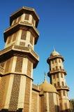 非洲清真寺 库存照片