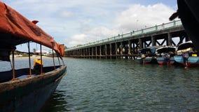 非洲港口 免版税库存图片