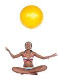 非洲游泳衣 免版税库存图片