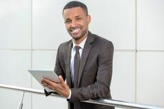 非洲生意人 免版税库存照片