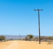 非洲电线 免版税图库摄影