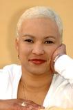 非洲白肤金发的女孩 免版税库存照片