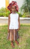 非洲礼服 库存照片