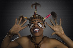 非洲秀丽幻想 库存照片