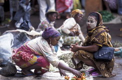 非洲科摩罗昂儒昂岛 免版税库存图片