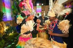 非洲舞蹈演员 免版税库存图片