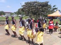 非洲舞蹈 库存照片